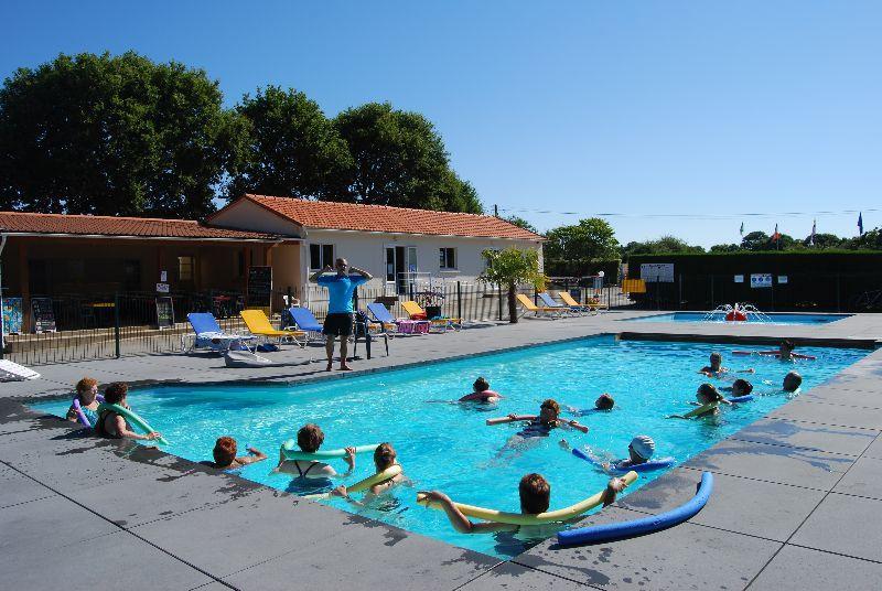 Camping pornic piscine chauff e camping les bleuets for Camping maine et loire avec piscine